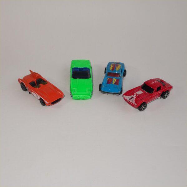 Hotwheels Corvettes Selection x 4 Loose Models #1043