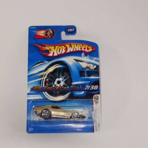 Matchbox Hot Wheels 69 Chevrolet Corvette ZL 1