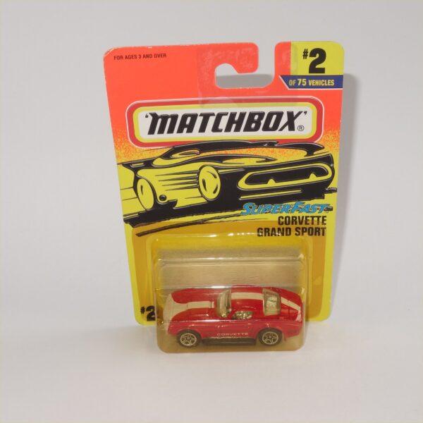 Matchbox Superfast MB2 Chevrolet Corvette Grand Sport