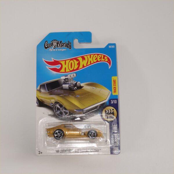 Matchbox Hot Wheels Gas Monkey Garage 68 Chevrolet Corvette