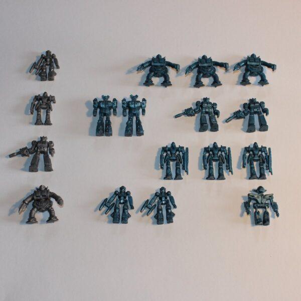 Tyco Transformers Train Set Autobot Decepticon Decoy Figures