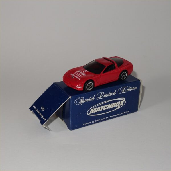 Matchbox Limited Edition 1997 Chevrolet Corvette Hard Top Red