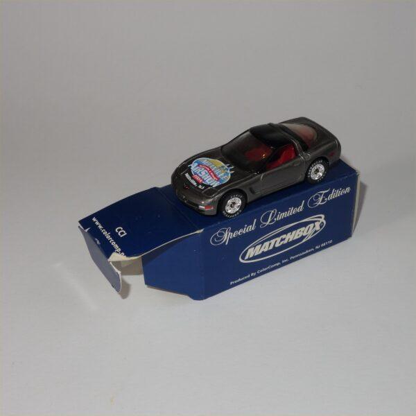 Matchbox Limited Edition 97 Chevrolet Corvette Hard Top Grey