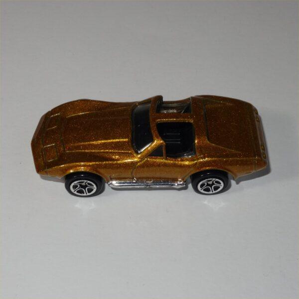 "Matchbox '87 Chevrolet Corvette ""T"" Top Gold"