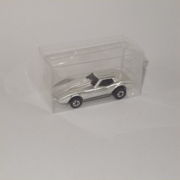 1992 Hot Wheels Gleam Team Corvette Sting Ray Silver #1793