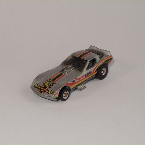 1982 Hotwheels Corvette Vetty Funny Tom McEwen Mongoose Funny Car #2508