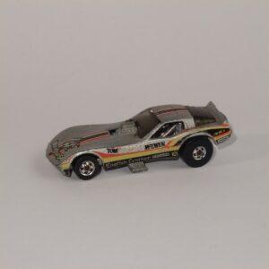 1982 Hotwheels Corvette Tom McEwen Vetty Funny Mongoose #2508