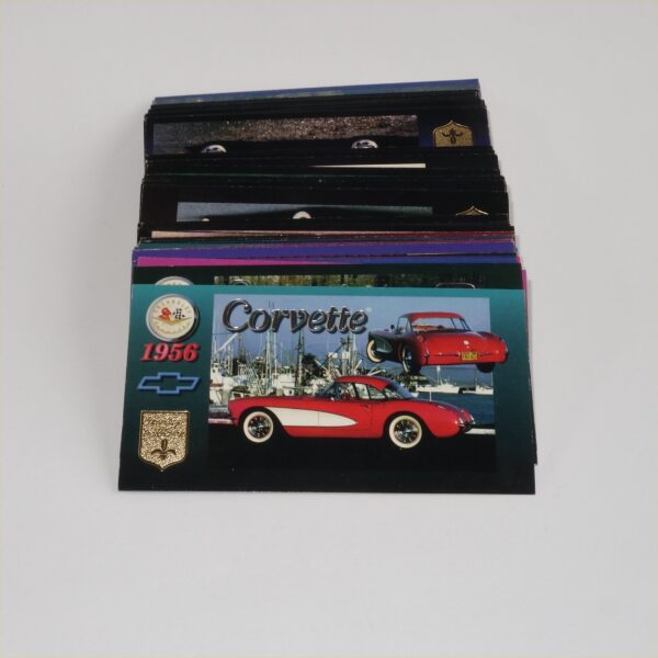 1996 Chevrolet Corvette Heritage Collection Collect-A-Card 89 Card Lot