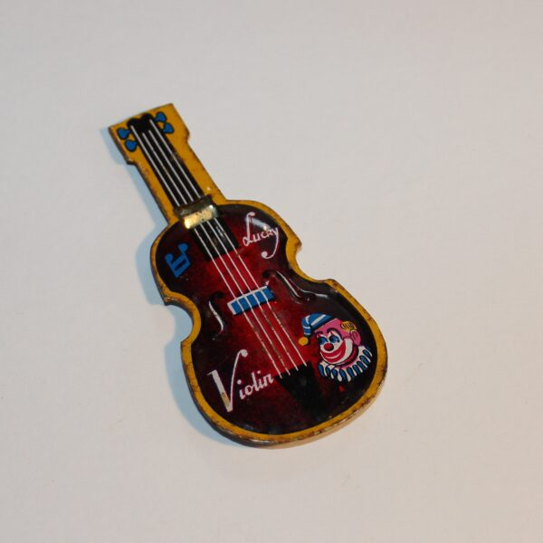 Vintage Japan Whistle Party Favour Show Bag Lucky Violin Image
