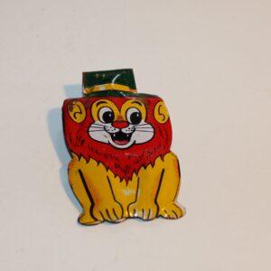 Vintage Japan Clicker Party Favour Show Bag Friendly Lion Image
