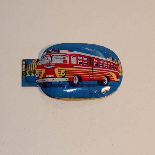 Vintage Japan Clicker Party Favour Show Bag American Bus Image