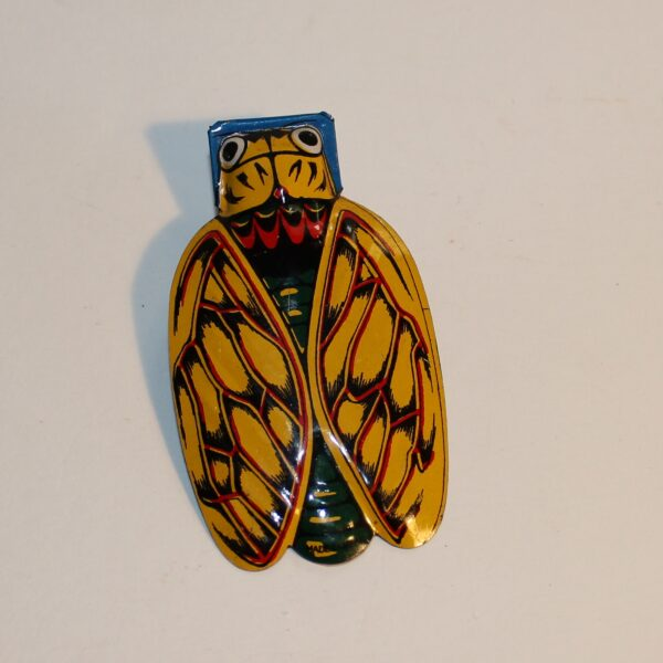 Vintage Japan Clicker Party Favour Show Bag Beetle Butterfly Image