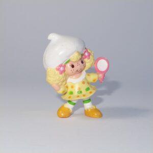 Strawberry Shortcake 1982 Lemon Meringue with a Mirror PVC Figurine
