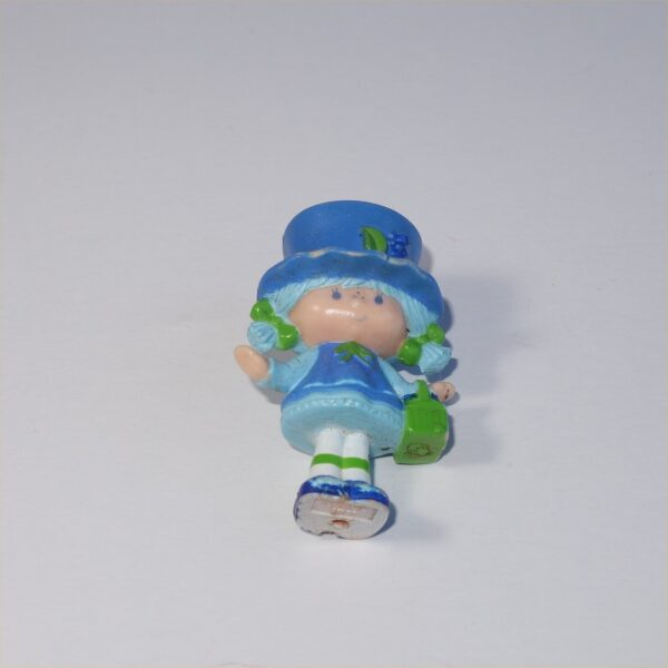 Strawberry Shortcake 1981 Blueberry Muffin with a Basket PVC Figurine
