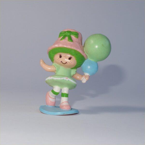 Strawberry Shortcake 1982 Lime Chiffon with Balloons PVC Figurine