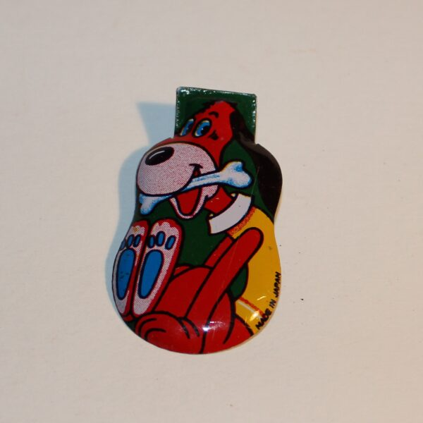 Vintage Japan Clicker Party Favour Show Bag Huckleberry Dog Hound Image