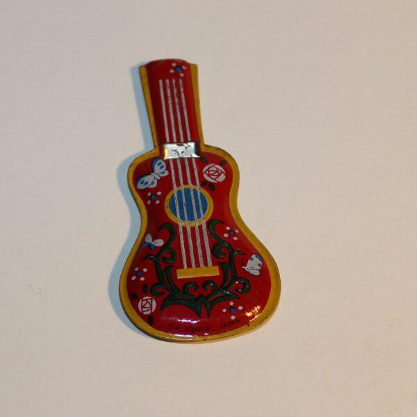 Vintage Japan Whistle Party Favour Show Bag Guitar Image