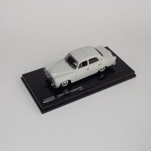 Vitesse #23580 1957 Peugeot 403 Grey