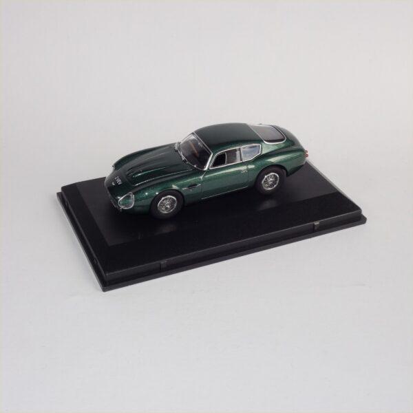 Oxford AMZ001 Aston Martin DB4GT Zegato 2VEV Metallic Green