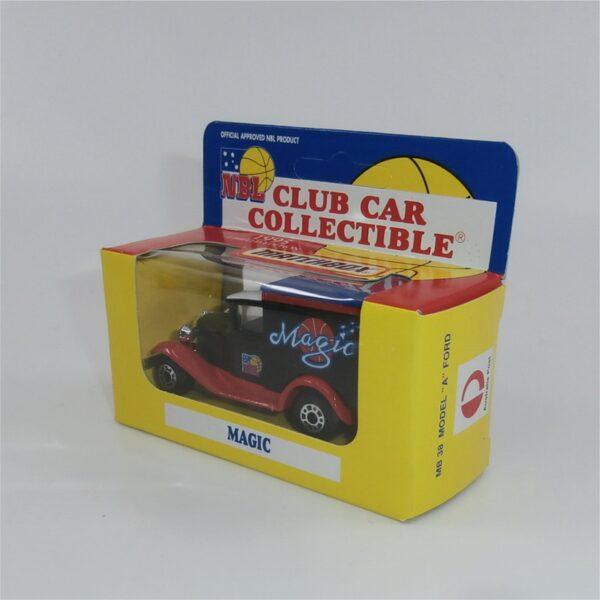 Matchbox 1995 NBL Basketball Club Car Melbourne Magic Model A Ford