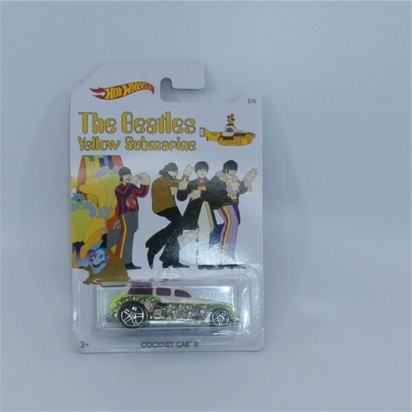 Hot Wheels The Beatles Yellow Submarine Cockney Cab II John Lennon