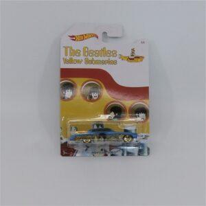 Hot Wheels The Beatles Yellow Submarine Jaguar Fish'd N Chip'd Paul McCartney