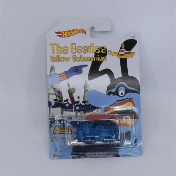 Hot Wheels The Beatles Yellow Submarine Kool Kombi VW Volkswagen Blue Meanie