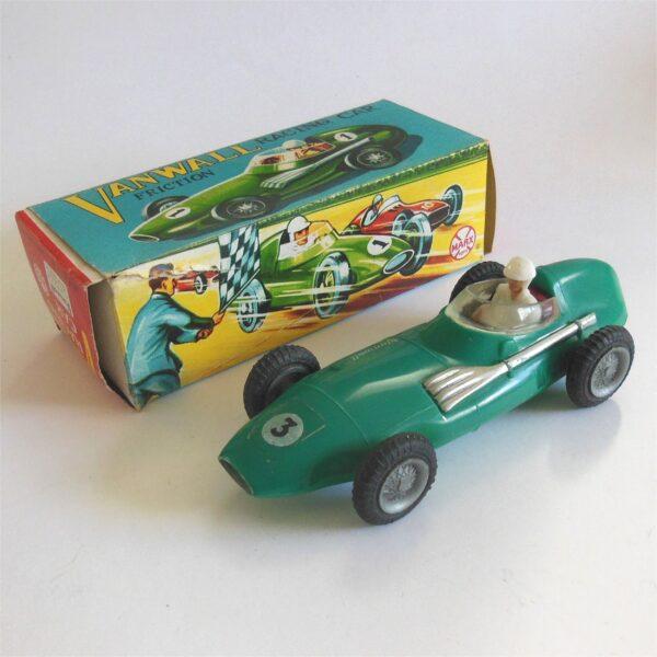 Marx Toys Vanwall Racing Car Friction Motor Hong Kong c1960