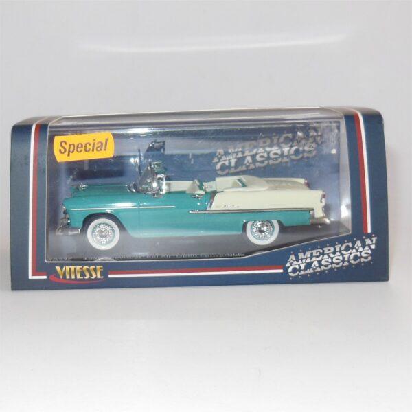 Vitesse #36294 1955 Chevrolet Bel Air Open Convertible Regal Turquoise