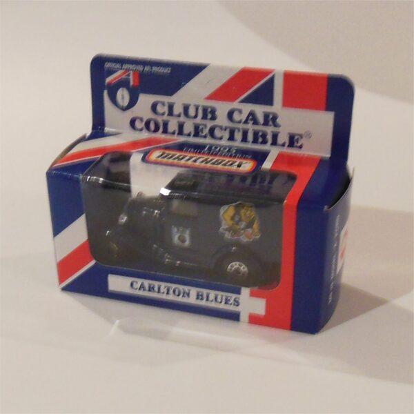 Matchbox 1995 AFL Football Club Car Carlton Blues Model A Ford