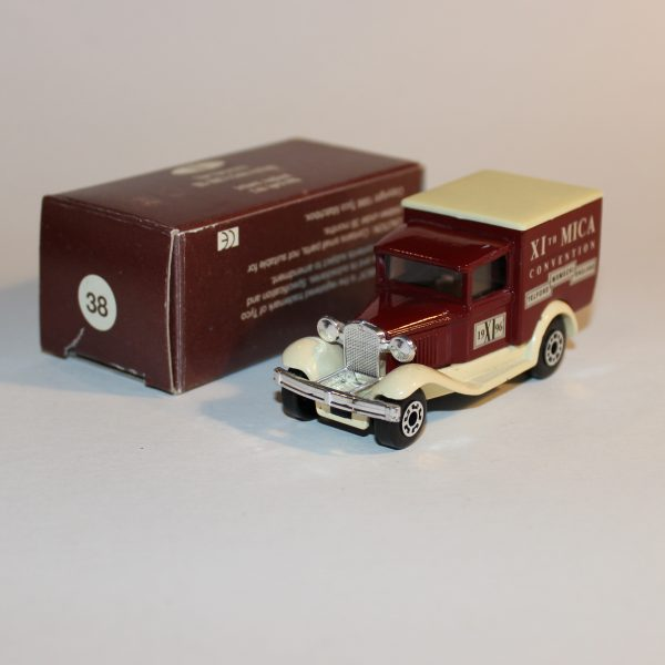 Matchbox 1996 11th Eleventh MICA Convention Telford England #38 Model A Ford Van