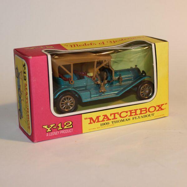 Matchbox Lesney Models of Yesteryear Y-12 1909 Thomas Flyabout