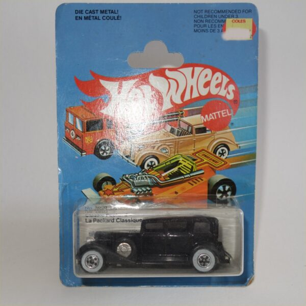 Hot Wheels 1982 Classic Packard Canadian Card Issue #3920 Mint on Card
