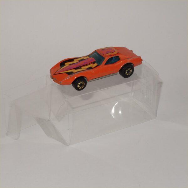 Hot Wheels Flying Colors Corvette Stingray Orange 1980 GHO Wheels