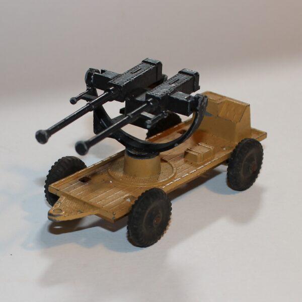 Lone Star Harvey Series DCMT War in the Desert 1:43 AA Gun Trailer Mounted