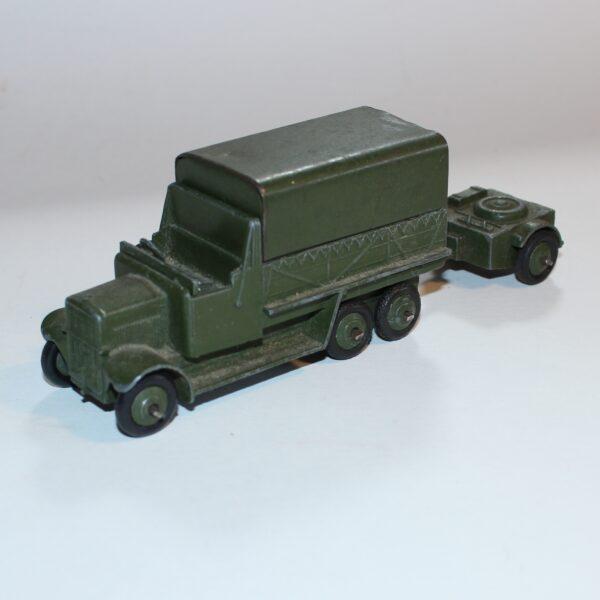 Dinky Toys 151b 6 Wheeled Army Transport Wagon 162b Ammo Trailer