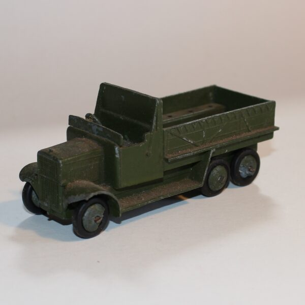 Dinky Toys 151b 6 Wheeled Army Transport Wagon