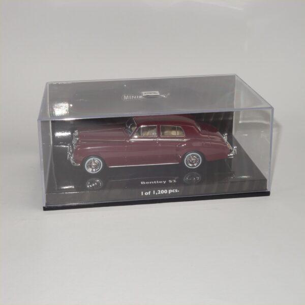 Minichamps 1960 Bentley S2 Standard Saloon Red