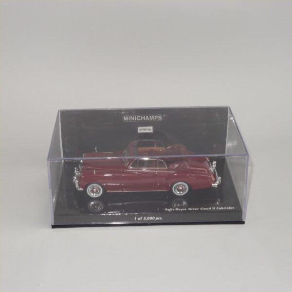 Minichamps 1960 Rolls Royce Silver Cloud II Cabriolet Red