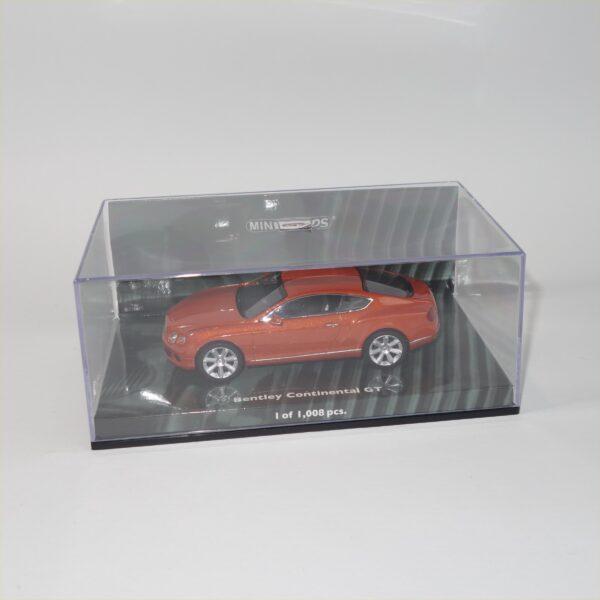 Minichamps 2011 Bentley Continental GT Orange Metallic
