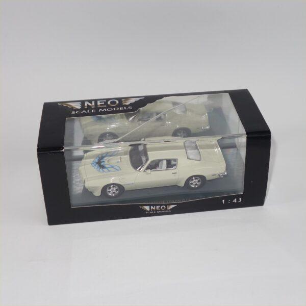 Neo 044745 1973 Pontiac Firebird Trans Am Cream