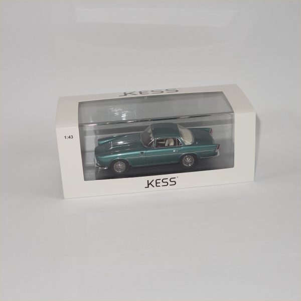 KESS #KE43029000 1956 Jaguar XK 150 Ghia Aigie Coupe Metallic Green