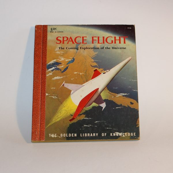 1958 Space Flight Golden Library Knowledge Book Del Ray Polgreen