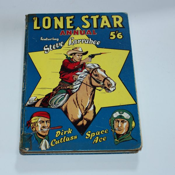 1958 Lone Star Annual Steve Larrabee Space Ace DCMT England