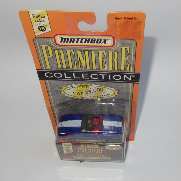 Matchbox Series 15 Premiere Collection Chevrolet Corvette 1987 Convertible