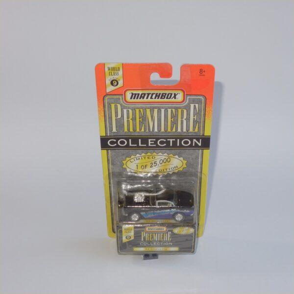 Matchbox Series 9 Premiere Collection Chevrolet Corvette 1962 Purple