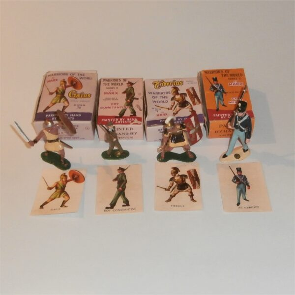 Marx Warriors of the World Selection of 4 Boxed Figures